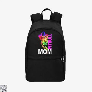 The Pitbull Rainbow Pit Bull Mom, Pitbull Backpack
