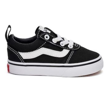 CREY7GX Vans Ward Toddler Slip On Skate Shoes | null