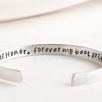 Maid of Honor and Bridesmaid Bracelet