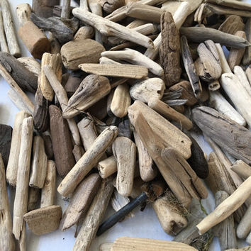 50 small driftwood pieces wedding table  decor, beach decor driftwood lot, DIY driftwood, driftwood supplies