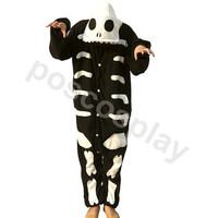 KIGURUMI Costume Animal Pajamas Pyjamas Onesuit Adult / Kid SLOTH-Halloween skeleton  ghosts