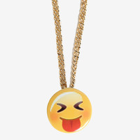 Emoji Necklace - Tongue Out