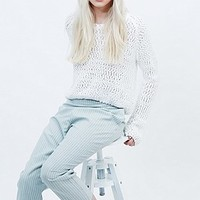 Urban Renewal Vintage Remnants Jack Trousers in Mint - Urban Outfitters