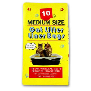 Litter Box Liner Bags ( Case of 72 )
