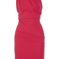 Preen by Thornton Bregazzi Plaza one-shoulder stretch-crepe dress – 57% at THE OUTNET.COM