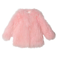 Fuzzy Fleece Jacket