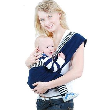 ESBLD1 Organic Cotton Baby Carrier Backpack  Adjustable Kangaroo Newborn Sling Wrap Multifunction infant Baby sling