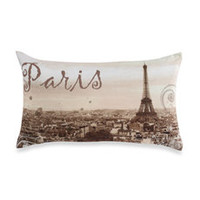 Paris Natural Toss Pillow