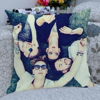 the 1975 band cover albume pillow case,one side and two side /pillow cover