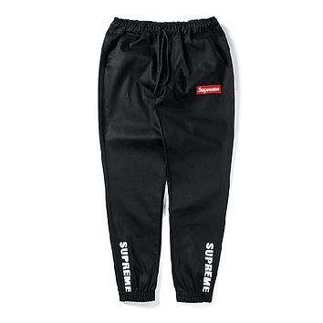 Supreme Fashion Edgy Simple Pants Trousers Sweatpants