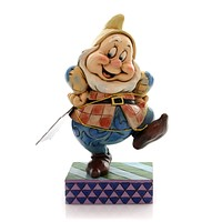 Jim Shore HAPPY HOP Polyresin Seven Dwarfs Snow White 4049627