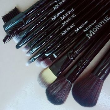 Box Make-up Brush 12-pcs Black Brush [211487326220]