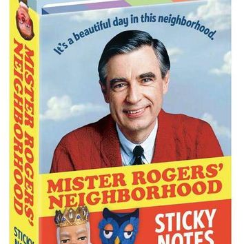 Mister Rogers Sticky Note Booklet