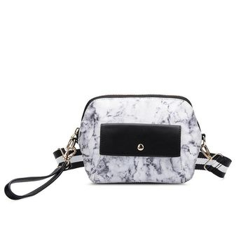 White Saffi Travel Crossbody