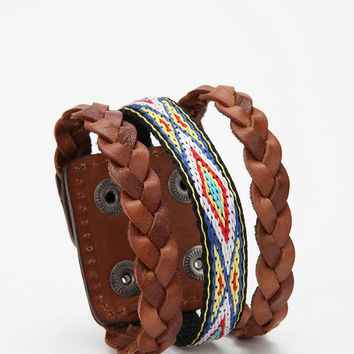 Urban Outfitters - Leather Cuff Bracelet