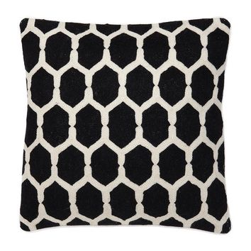 Black Decorative Pillow | Eichholtz Cirrus