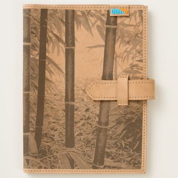 Black Bamboo Floral Journal