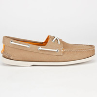 Sperry Top-Sider Authentic Original Mens Boat Shoes Brown  In Sizes