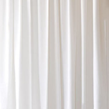 "Beautiful White Custom Made Size Drapes Home Living Room/Bedroom Rod Pocket Top Window Treatment Flocked Velvet Curtain 96"" High Long Panel"