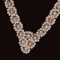 1950s Woven Pearl Necklace