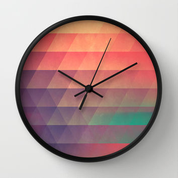 nww phyyzz Wall Clock by Spires | Society6