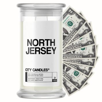 North Jersey City Cash Candle