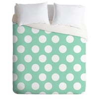 Allyson Johnson Mintiest Polka Dots | DENY Designs Home Accessories