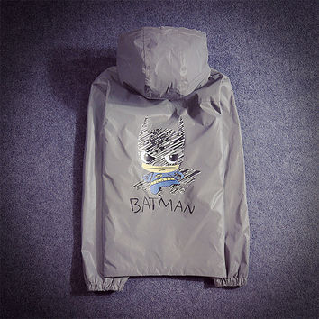 Autumn Jacket Couple Cartoons Windbreaker [9273988039]