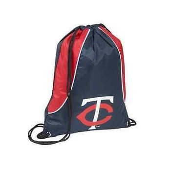 MLB Minnesota Twins Axis Backpack Cinch String Bag Tote Drawstring Pouch Sling