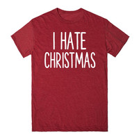 I HATE CHRISTMAS FUNNY SHIRT