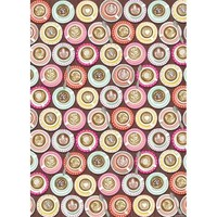 Coffee Cups Wrapping Paper