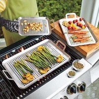 Small Stainless Steel Grill Grids - Grills & Griddles - Cookware - Sur La Table