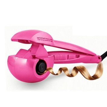 110-240V Steam Spray Automatic Hair Curler Digital hair styler curlers Hot hair care styling Tools hair curling iron EU US Plug