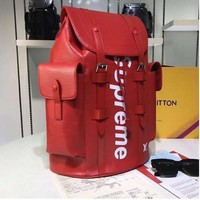 hcxx Supreme Christopher Backpack PM Red (replica)