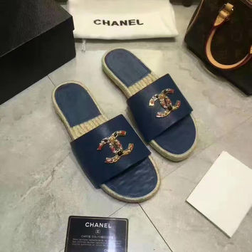 shosouvenir : Chanel Fashion casual women flip flops