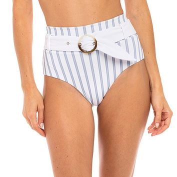 Revel Rey Hampton Stripe Quinn Bottom Bikini Separate