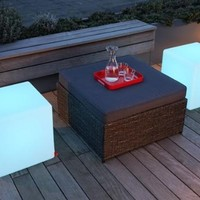 """Outdoor LED Light Cube 17"""" - Cordless with remote control:Amazon:Patio, Lawn & Garden"""