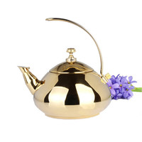 1.5L Stainless Steel Water Kettle Creative Tea Pot