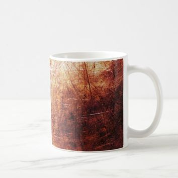 Cool Red Rust texture Background Coffee Mug