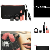 MAC Look in a Box Sunblessed Nude Lip & Eye Kit