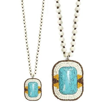 Clear Sky Necklace - Turquoise