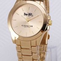 Coach 2018 new style brand fashion hollow automatic mechanical watch F-YY-ZT 2