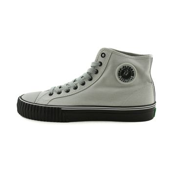 Mens PF Flyers Center Hi Athletic Shoe, Gray | Journeys Shoes