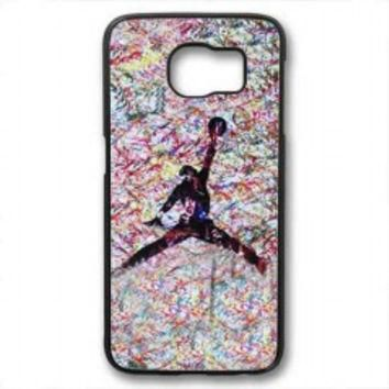 air jordan paint for samsung galaxy s6 case