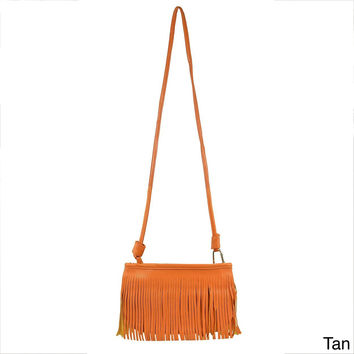Oasis Tassel Fringe Shoulder Bag 30