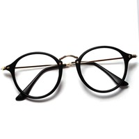 2016 Women Men Vintage Round Eyewear Frames Retro  Optical Glasses Frame  Eyeglasses Goggle Oculos L425