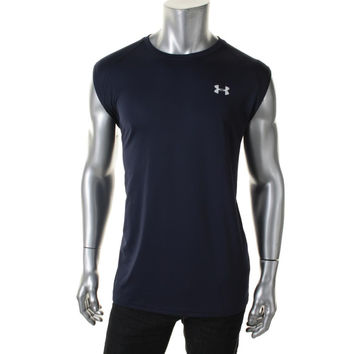 Under Armour Mens Loose Fit Crew Neck Tank Top