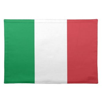 Italian Flag on MoJo Placemat