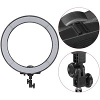 "240 LED 18""Ring Light Camera Photo/Video  240pcs LED SMD 5500K Dimmable (1% to 100%)+ 2 Color Filter + Universal Adapter with US/EU/UK Plug"