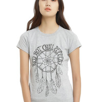 Red Hot Chili Peppers Dreamcatcher Logo Girls T-Shirt